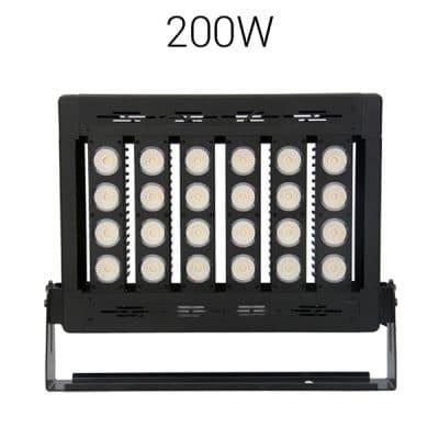 LED strålkastare 200W pro