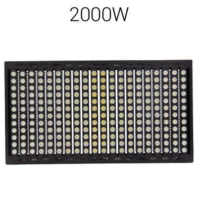 LED strålkastare 2000W pro