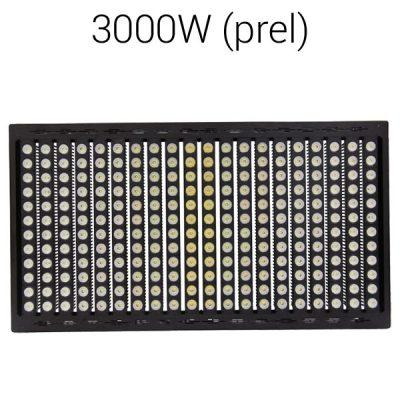 LED strålkastare 3000W pro