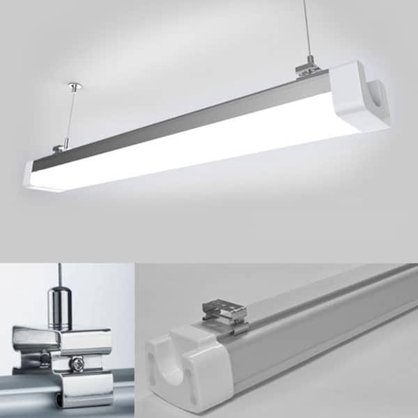 Mega LED industriarmatur 80W - för industrilokaler, verkstäder, ridhus mm YX56