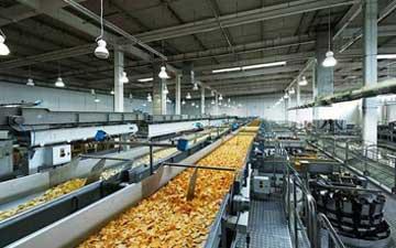 LED belysning för livsmedelsindustri som uppfyller HACCP