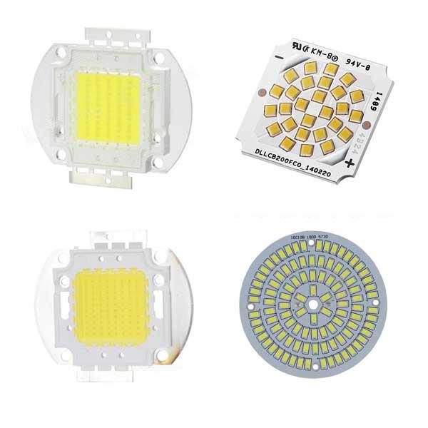 LED moduler exempel på COB SMD