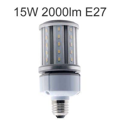 LED ljuskälla E27 15W