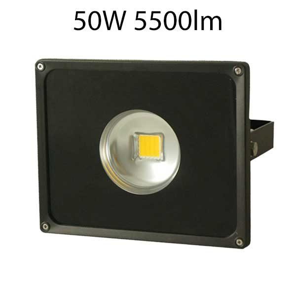 LED strålkastare 50W smalstrålande