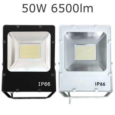 LED strålkastare 50W / ledstrålkastare 50W IP66 ljusstark och driftsäker