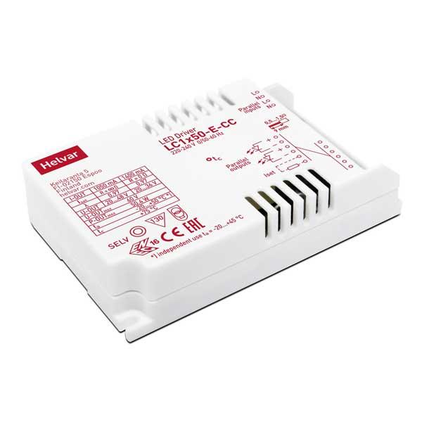 LED drivdon Helvar LC1x50-E-CC