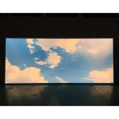 LED panel med kundanpassad bild - himmel
