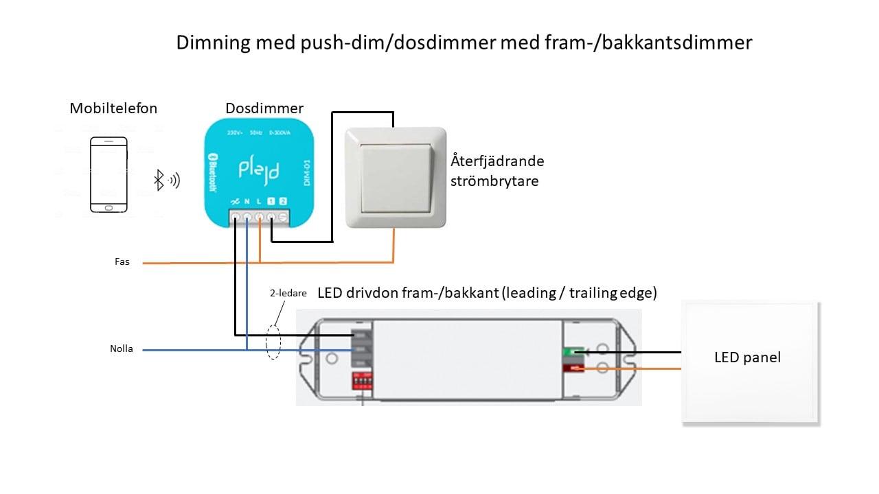 Dimning dosdimmer DIM-01