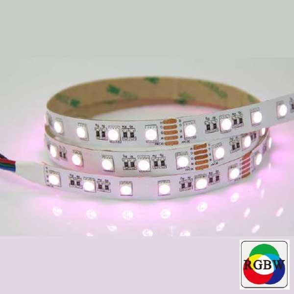 LED strip RGBW 24Vdc 19,2W