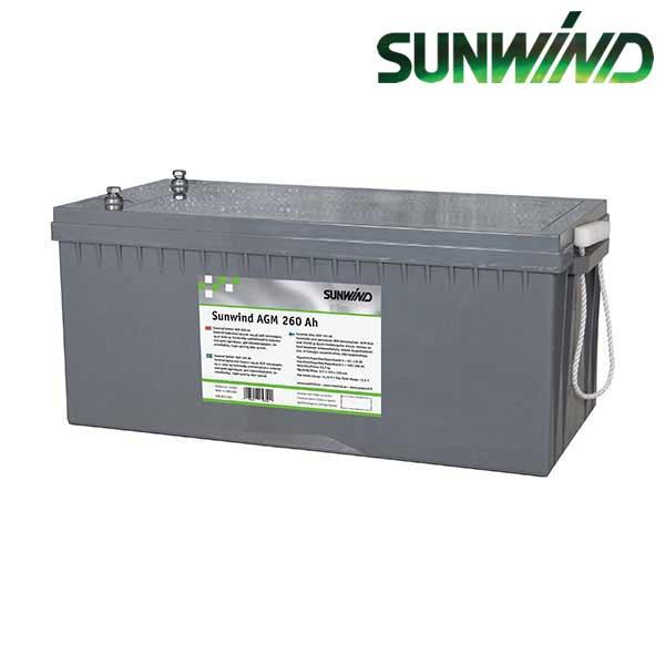 Batteri-Sunwind-AGM-260Ah-600x600